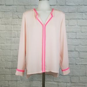 Vince Camuto XS Pink Blouse
